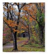 Fall Homestead Fleece Blanket