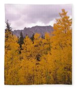 Fall In Maroon Bells Fleece Blanket