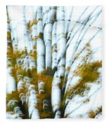 Fall In Motion Fleece Blanket