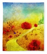 Fall In Oz Fleece Blanket