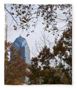 Fall In Philly Fleece Blanket