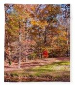 Fall In The Ozarks Fleece Blanket