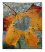 Fall Ing In Love Fleece Blanket