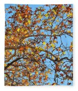 Fall Is Here Fleece Blanket
