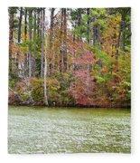 Fall Landscape 2 Fleece Blanket