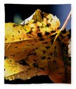 Fall Maple Leaf Fleece Blanket