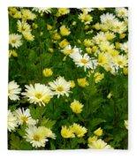 Fall Perennials Fleece Blanket