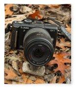 Fall Photography Fleece Blanket