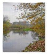 Fall River Park Fleece Blanket