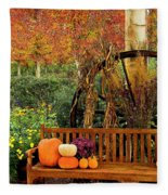Fall Serenity Fleece Blanket