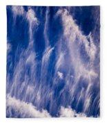 Fall Streak Clouds  Fleece Blanket