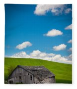 Fallen Barn Fleece Blanket