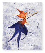 Fallen Leaf King Size Shadow Fleece Blanket