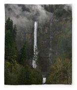 Falling From The Mist Fleece Blanket