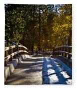 Falling Shadows Fleece Blanket