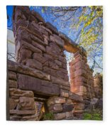 Falling Wall Jerome Fleece Blanket