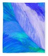 Falling Water By Jrr Fleece Blanket