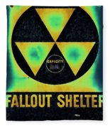 Fallout Shelter Abstract 2 Fleece Blanket