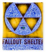 Fallout Shelter Abstract 4 Fleece Blanket