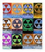 Fallout Shelter Mosaic Fleece Blanket
