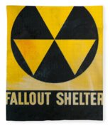 Fallout Shelter Fleece Blanket
