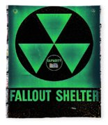 Fallout Shelter Wall 1 Fleece Blanket
