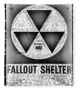 Fallout Shelter Wall 10 Fleece Blanket