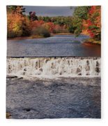 Falls Color Fleece Blanket