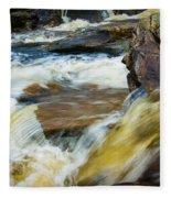 Falls Of Dochart Scotland Fleece Blanket