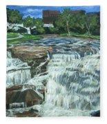 Falls River Park Fleece Blanket