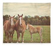 Family Fleece Blanket