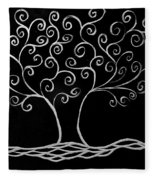 Family Tree Fleece Blanket