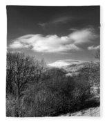 Fan Fawr Brecon Beacons 2 Mono Fleece Blanket