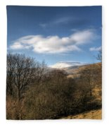 Fan Fawr Brecon Beacons 2 Fleece Blanket