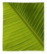 Fan Of Green 2 Fleece Blanket