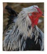 Fancy Rooster Fleece Blanket