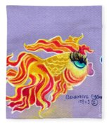 Fancytail Goldfish Fleece Blanket