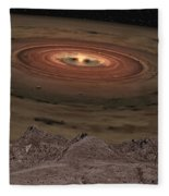 Fantacy Edge Of The World Fleece Blanket