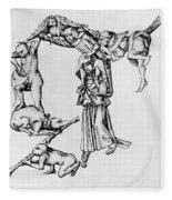 Fantastic Alphabet, C1465 Fleece Blanket