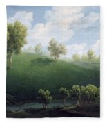 Fantastic Landscape Fleece Blanket