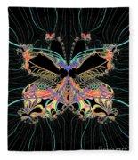 Fantasy Butterfly Fleece Blanket