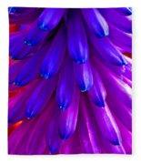Fantasy Flower 5 Fleece Blanket