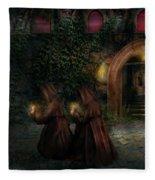Fantasy - Into The Night Fleece Blanket