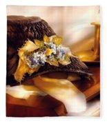 Fantasy - The Widows Bonnet  Fleece Blanket