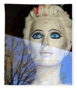Far Away Eyes Fleece Blanket