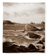 Faraid Head Durness Scotland Fleece Blanket