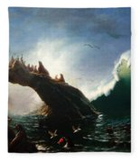 Farallon Island Fleece Blanket