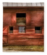 Farm - Barn - Visiting The Farm Fleece Blanket
