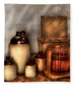 Farm - Bottles - Let's Make Some  Apple Juice Fleece Blanket