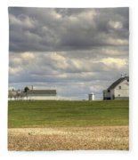 Farm Country Fleece Blanket